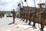Il Comandante della JTF-L fa il suo ingresso inbase
