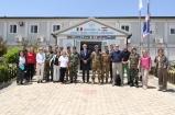 Il Comandante OLLA ed la delegazione MASG