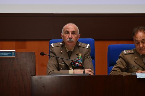 Il Generale di Corpo d'Armata Claudio Mora al 2^Workshop di psicologia e psichiatria militare