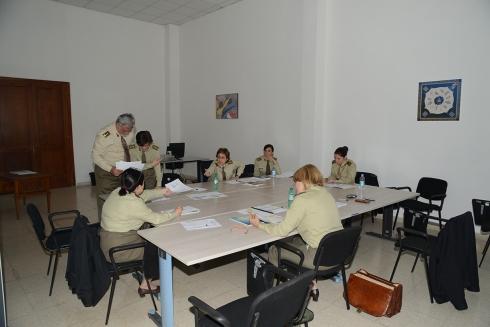 Un momento di lavoro al 2^Workshop di psicologia e psichiatria militare