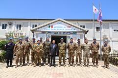 Foto di gruppo in occasione della visita