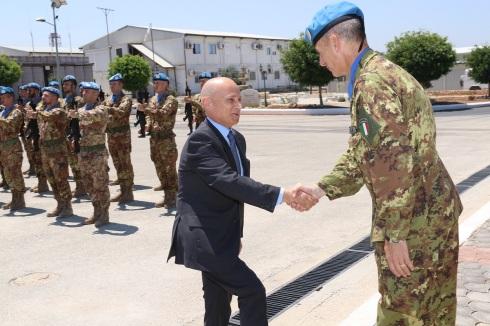 Il benvenuto del Generale di Brigata Francesco Olla
