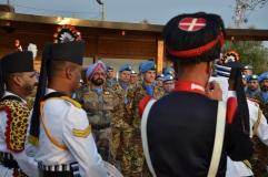 Elementi della banda dei Granatieri italiani e indiani 2