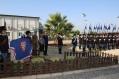 Il piccheddo d'onore dei Lancieri di Montebello e Granatieri di Sardegna prima dell'inaugurazione