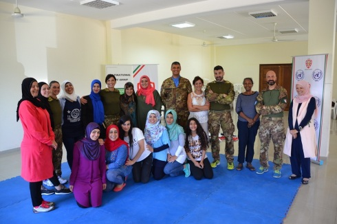 Il primo gruppo del female self defence course