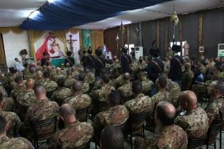 Messa domenicale a suffragio della Medaglia d'Oro al Valor Militare