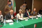 Firma del protocollo d'intesa alla presenza della Signora RandaBerri