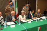 Firma del protocollo d'intesa alla presenza della Signora Randa Berri