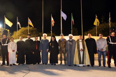 Il Comandante della Joint Task Force Lebanon e le autorità religiose del Sud del Libano