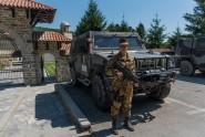 Kosovo_militare italiano di vigilanza al sito protetto del Monastero di Decane