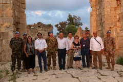 Visita presso l'ippodromo romano di Tiro, il terzo più grande al mondo