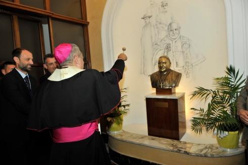 22 Benedizione del busto di San Giovanni XXIII Papa