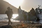 2017_10_24_JS17_Prove generali sbarco anfibio operazione Joint Stars 2017_Sbarco fucilieri Brigata Marina San Marco(2)