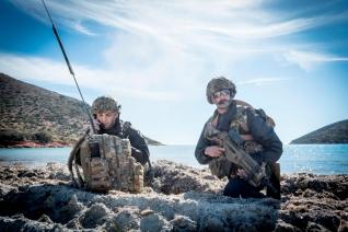 2017_10_25_JS17_ Prove generali sbarco anfibio operazione Joint Stars 2017_Fucilieri Reggimento San Marco