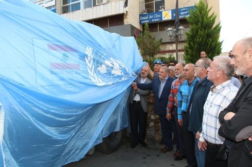 Il Gen.B. Olla e le autorita' locali inaugurano il veicolo