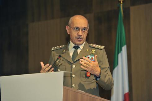 Intervento del Capo di Stato Maggiore dell'Esercito