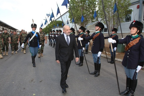 Rassegna del Ministro Yacoub Sarraf al Contingente Italiano di UNIFIL