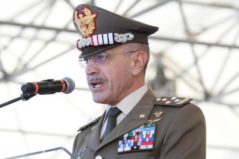 12. Il Capo di SME Generale di Corpo d'Armata Danilo Errico durante il suo intervento