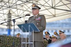 14. Il Capo di SMD Generale Graziano durante il suo discorso