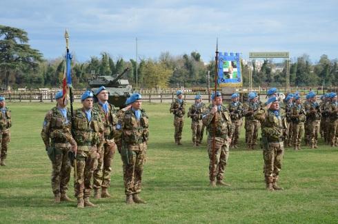 171114 gra 5. Lo Stendardo del Reggimento ''Lancieri di Montebello'' (8°)