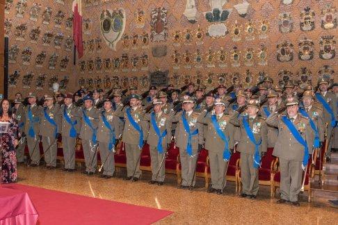 Autorità militari presenti alla cerimonia