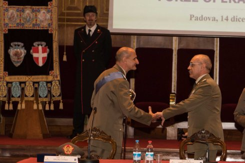 Saluto augurale del Capo di SME al Gen. C.A. Paolo Serra