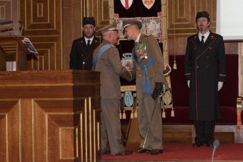 Saluto fra il Gen. C.A. Bruno Stano e il Gen. C.A. Paolo Serra