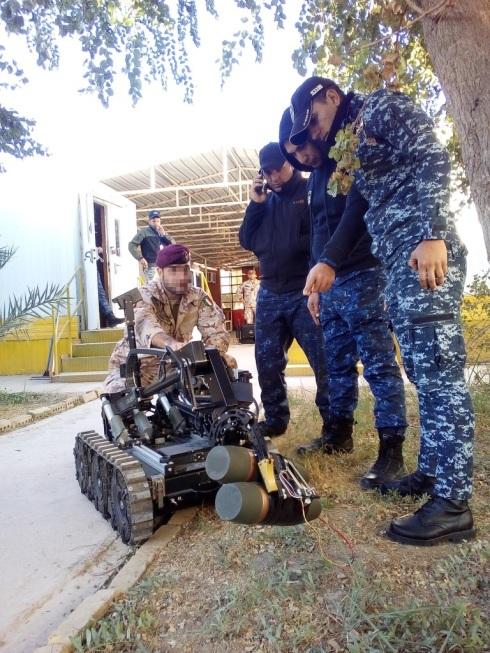 Dimostrazione impiego robot RCV_