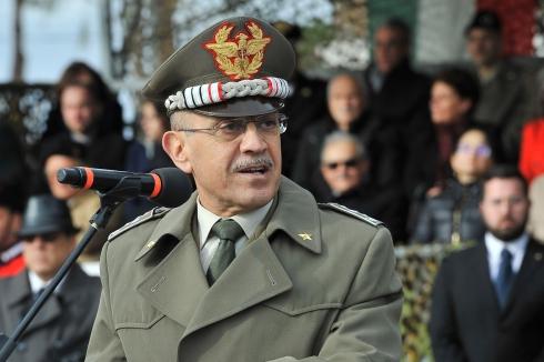 8. Intervento del Capo di Stato Maggiore dell'Esercito