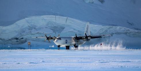 Antartide Pista