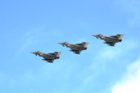 Eurofighter in formazione
