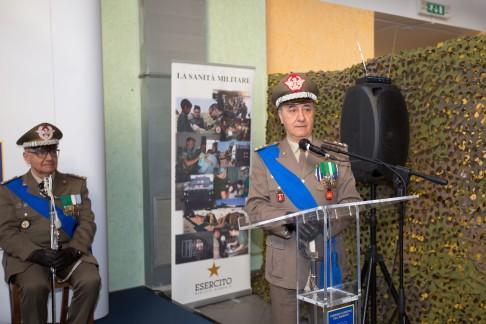 discorso del Generale Battistini