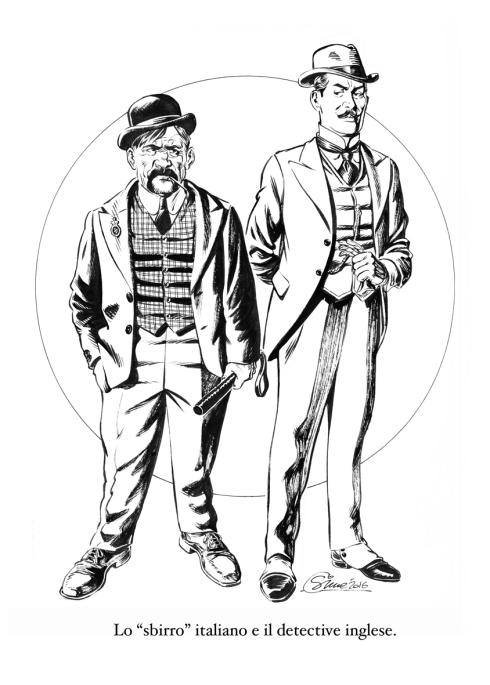GIGI SIMEONI Sbirro italiano e detective inglese medio