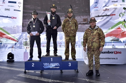 Premiazione Biathlon maschile