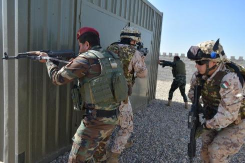 AIC nuovi istruttori Militari