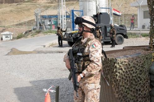 TF Praesidium_I sassarini del 151° Reggimento hanno assicurato hanno garantito una adeguata cornice di sicurezza
