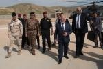 TF Praesidium_TF Praesidium_arrivo presso la base di Mosul Dam del Primo Ministro Iracheno Ḥaydaral-ʿAbādī