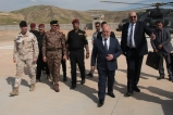 TF Praesidium_TF Praesidium_arrivo presso la base di Mosul Dam del Primo Ministro Iracheno Ḥaydar al-ʿAbādī
