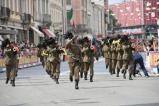 La fanfara dell'11° reggimento Bersaglieri