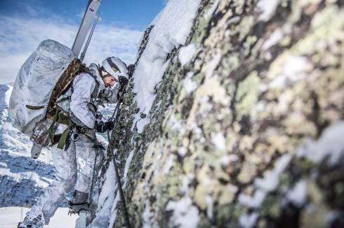 Attività alpinistica ambiente invernale