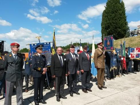I rappresentanti delle delegazioni straniere presenti a Nerevsa