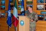 Indirizzo di saluto ai militari italiani di stanza a Pristina (1)