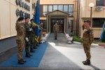 La visita al Comando diKfor