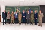 L'incontro con i vertici della Difesa Kosovara