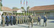 3.Il Generale di Brigata BINDI passa in rassegna lo schieramento