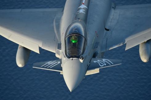 caccia Eurofighter_velivolo difesa aerea_