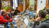 10. Il Generale Camporeale incontra un poll di giornalisti italiani embedded