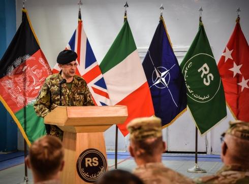 9. Un momento della cerimonia, intervento del Generale di Corpo d'Armata Salvatore Camporeale