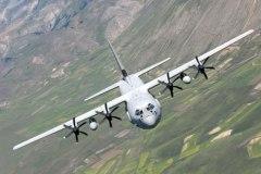 C130JHERCULES in volo