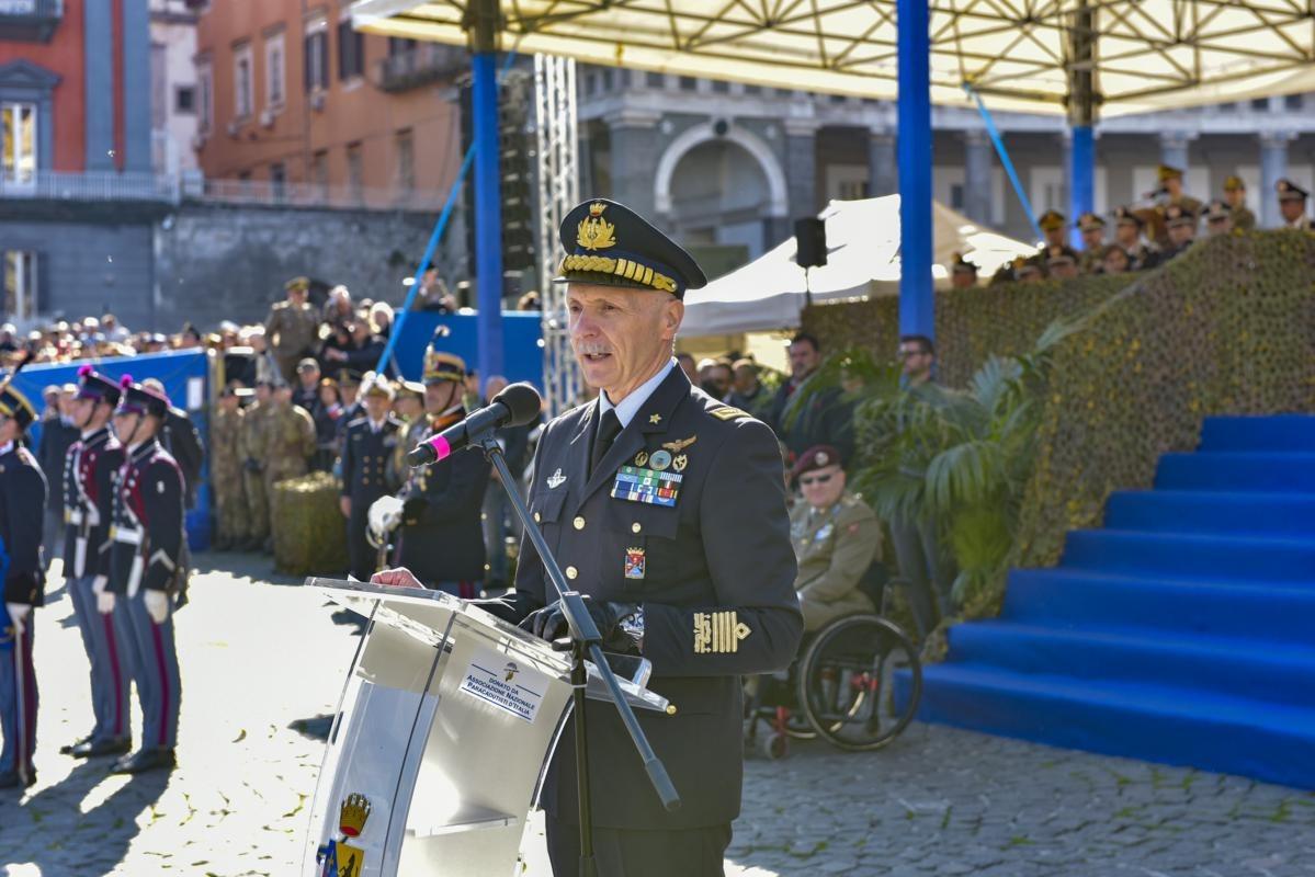 Il Capo di Stato Maggiore della Difesa, Generale Vecciarelli nel corso del suo intervento